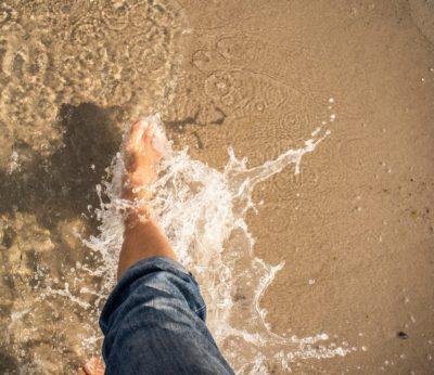photo hydratant pied naturel eau