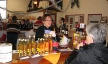 Dégustation de produits du terroir lot et garonnais dont les huiles Perles de Gascogne à la Cave des Vins du Brulhois à Layrac