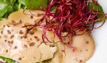 Recette de Carpaccio foie gras et huile de noisette Perles de Gascogne