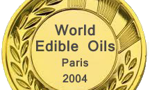 Médaille dor world edible oil