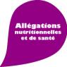 Picto allegations nutritionnelles et de sante