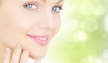 Portrait de femme pour soin de la peau