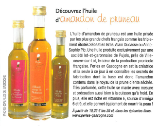 ARTICLE SUD OUEST GOURMAND SEPT 2015 box