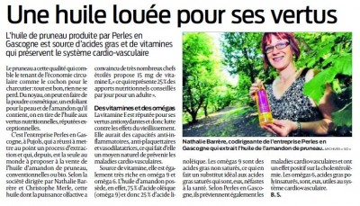 ARTICLE SUD-OUEST 28-01-2016