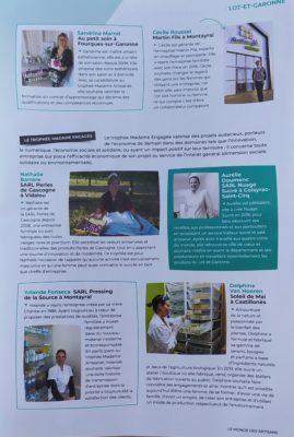 Madame Artisanat magazine page 2