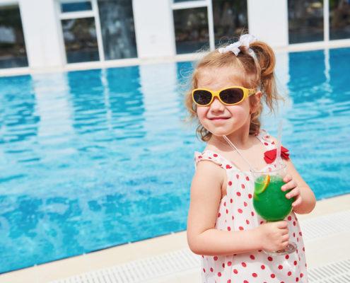 photo enfant recette lait protection solaire
