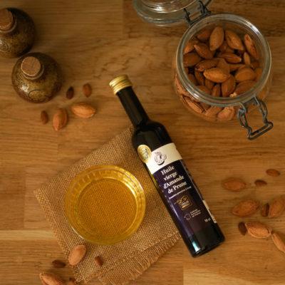 perles de gascogne photo huile de prune fabrication française