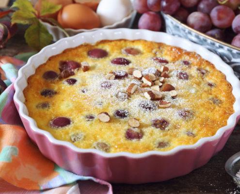 recette perles de gascogne clafoutis raisins