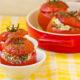 photo tomates farcies au saumon recette
