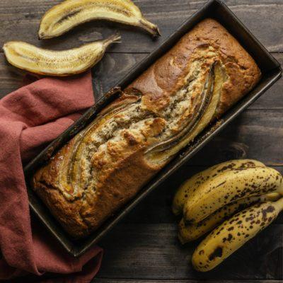 banana cake chocolat coco recette goûter énergie