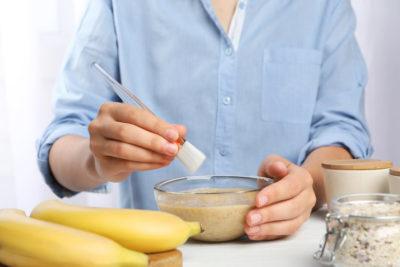 photo réalisation soin banane maison