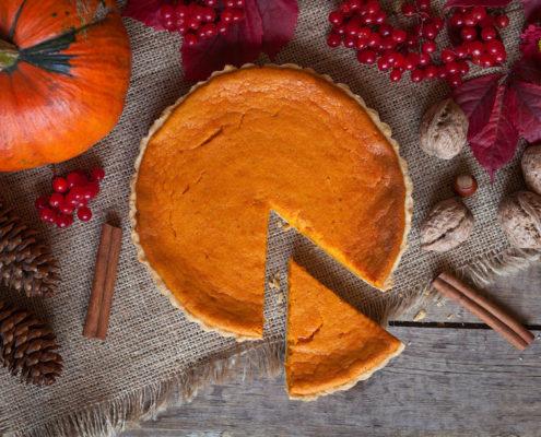 photo recette tarte citrouille halloween