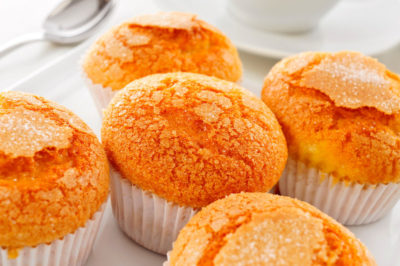 photo magdalenas madeleines au citron recette